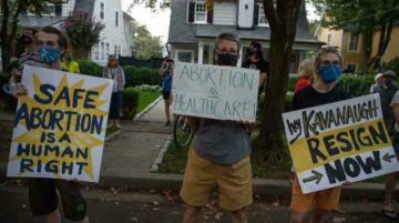 La batalla por el derecho al aborto llega a las calles de EEUU