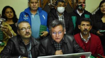 Cívicos preparan movilización para el 10 de octubre y paro nacional contra el Gobierno