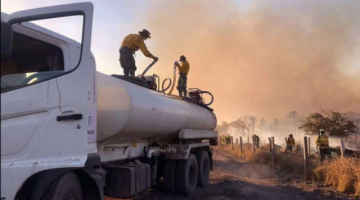 Santa Cruz registra 116 nuevos focos de quema en siete municipios