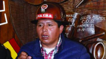 COB convoca a una marcha el 12 de octubre en Santa Cruz con presencia de Luis Arce