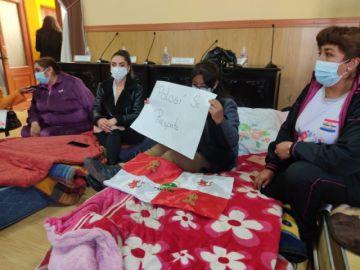 Concejalas se declaran en huelga de hambre exigiendo información de Manquiri