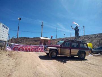 Dirigentes de Comcipo bloquean accesos a la planta de Manquiri