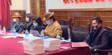 El MAS dice que la Ley Contra la Legitimación debe ser aprobada hasta mediados de noviembre