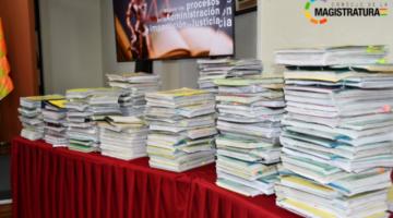 Exfuncionarios devuelven 180 expedientes desaparecidos en el Consejo de la Magistratura