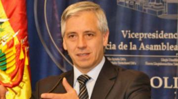 García Linera para frenar a conspiradores: revisa sus impuestos, mira sus propiedades, sus cuentas bancarias