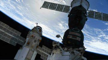 La ISS brevemente fuera de su eje orbital tras el encendido de motor de un cohete ruso