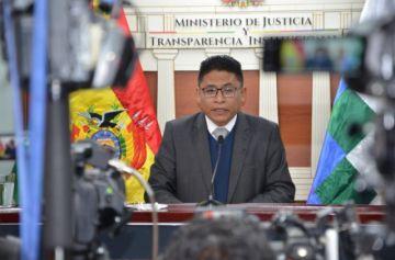 El Gobierno afirma que descarta tratar durante la gestión de Arce otro proyecto de ley 'antilegitimación'