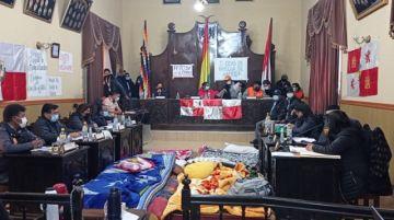 Siga aquí la sesión en la que el Concejo Municipal recibe a Manquiri