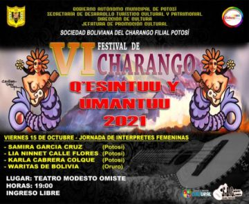 La nochefemenina abre el festival del Charango