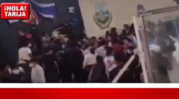 Congreso regional del MAS en Tarija termina en enfrentamientos