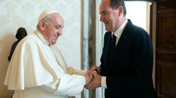 El Papa recibe al primer ministro francés en plena tempestad en la Iglesia en Francia