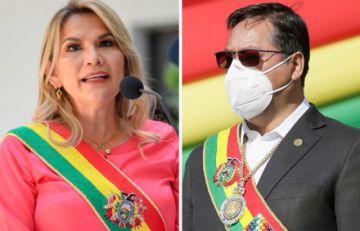 Añez le dice a Luis Arce que TCP y una ley de la Asamblea ratificaron constitucionalidad de su mandato