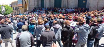Marcha de Fedecomin pide explosivos, nuevas áreas de trabajo y la abrogación de la ley 1386