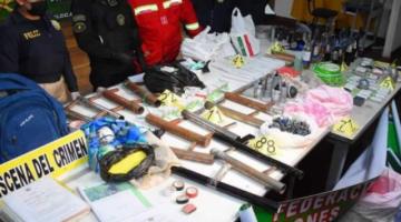 Policía encuentra explosivos en hospital de Adepcoca y cree que iban a ser usados el lunes