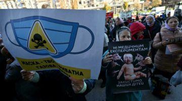 Ucrania registra un récord de muertes diarias de covid-19