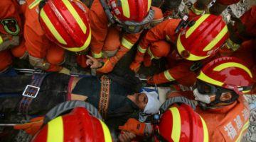 Reportan que hay 20 encarcelados en China por el derrumbe de un hotel de cuarentena