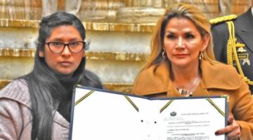 Mesa cita ocho instrumentos jurídicos que sustentan la legalidad de la sucesión de Añez