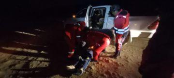 Reportan el rescate de dos mineros de la mina Tres Amigos