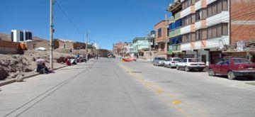 Los comerciantes cumplen el bloqueo de calles y avenidas
