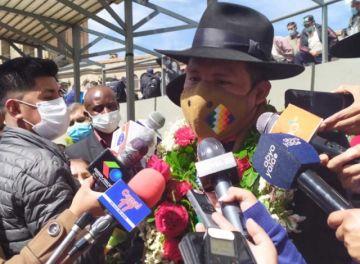 Gobernador Santos Quispe llama 'ley maldita' a la 1386 y se suma al pedido de su abrogación