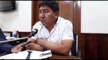 ¿Qué dice el gobernador de Potosí acerca del paro convocado por Comcipo?