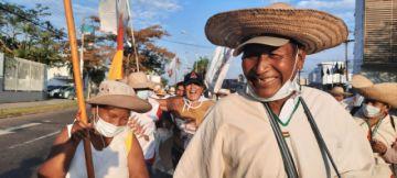 Marcha indígena enviará una comisión a La Paz para pedir diálogo con el presidente Arce