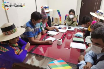 Consejero Molina se reunió con autoridades municipales de San Pedro de Buena Vista