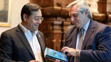 Luis Arce visitará a Alberto Fernández en noviembre para hablar del litio y energía eléctrica