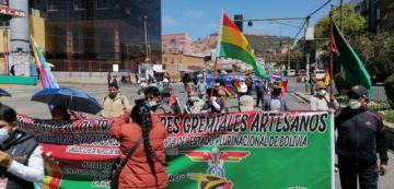 Gremiales declaran cuarto intermedio en protestas por Ley 1386; el Gobierno ve un 'fracaso'