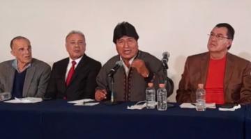 Evo Morales: Llegué a la presidencia sin formación solo con honestidad y la verdad
