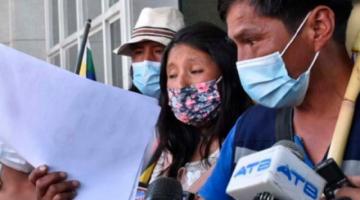 Reportan que entre las demandas de las víctimas de Senkata y Sacaba está acelerar el proceso contra Jeanine Áñez