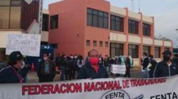 Trabajadores de AASANA amenazan con paro colectivo si Gobierno no atiende sus demandas