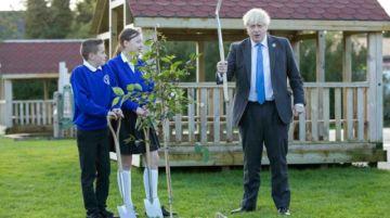 """Boris Johnson """"muy inquieto"""" por la COP26, pero """"se puede llegar..."""""""