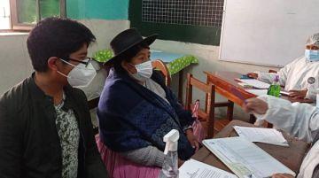 Así arranca la vacunación de menores en Potosí
