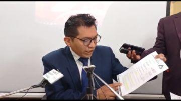 Secretario jurídico afirma que recién ayer recibió informe sobre auditoría a catastro