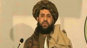 Reportan la primera aparición pública del hijo del mulá Omar, ministro en Afganistán