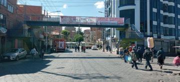Bloqueo del transporte demanda atención del Alcalde y paraliza la ciudad