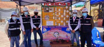 Estudiantes de bachillerato técnico expusieron sus proyectos