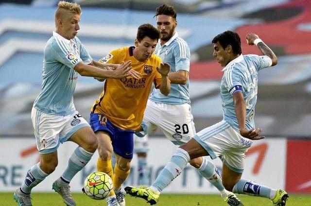 El Celta golea al Barça y le quita el liderato