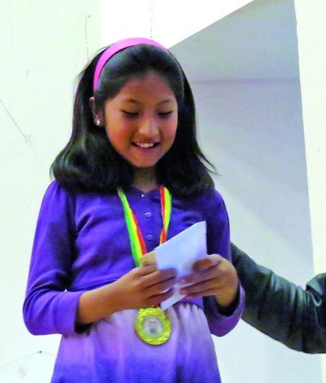 Ana Paula logra medalla de oro en los Plurinacionales