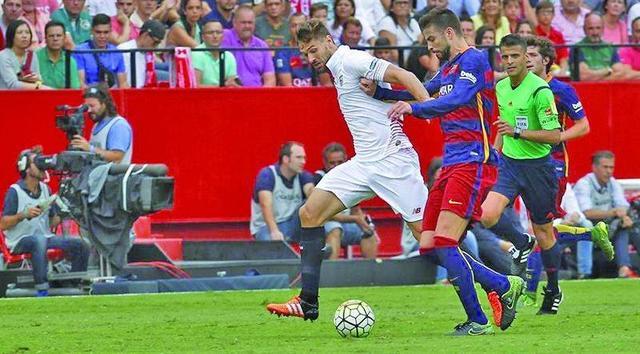 Barcelona pierde ante Sevilla