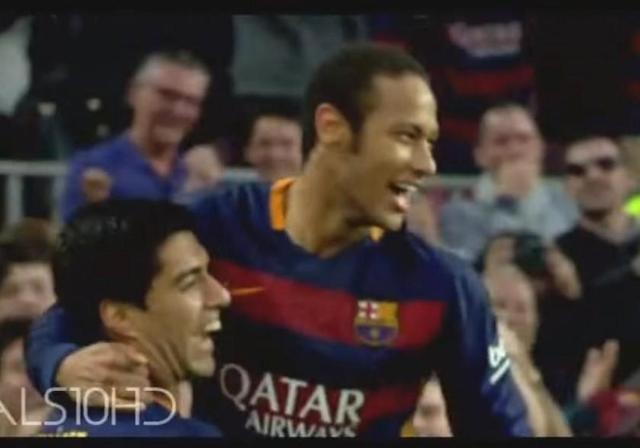 Neymar deslumbra con un golazo frente al Villarreal