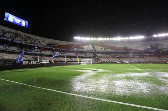 Suspenden Argentina-Brasil por fuerte tormenta en Buenos Aires