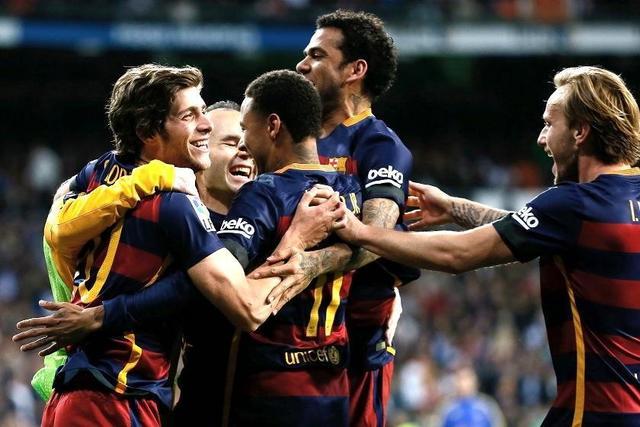 El Barcelona se pasea en la casa del Real Madrid
