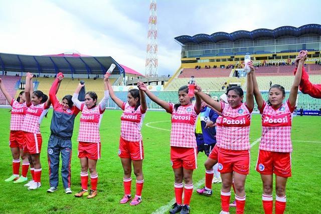 Potosí termina como líder en la primera ronda del torneo