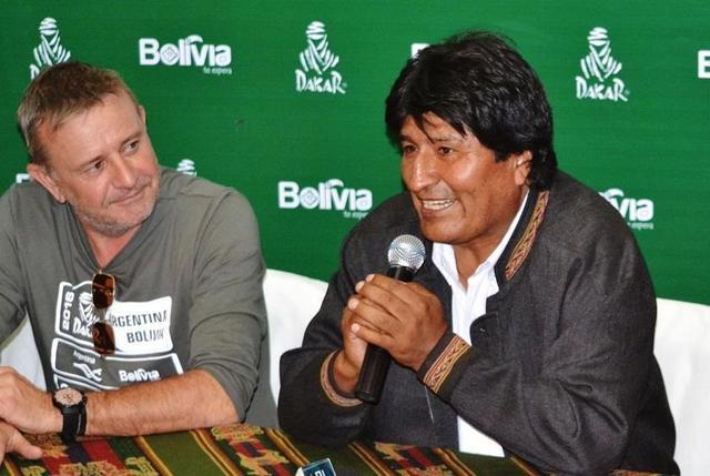 Presidente Morales dice que Bolivia está preparada para otro Dakar