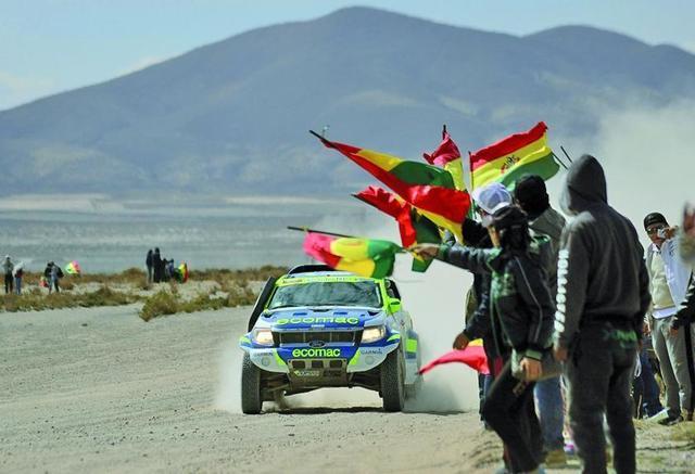 Bolivia despide hoy al  rali Dakar 2016