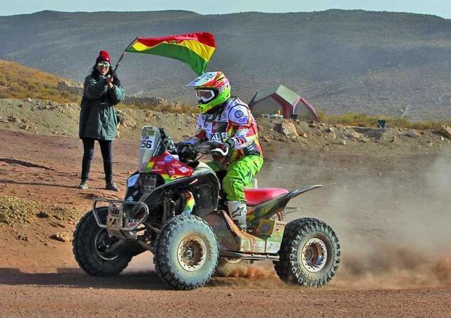 Nosiglia está a segundos de la gloria en el rali Dakar