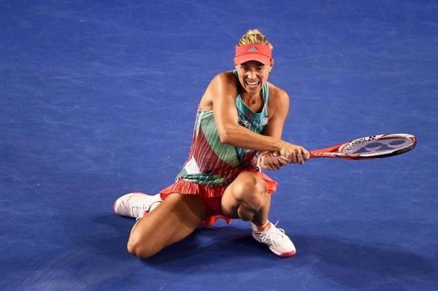 Serena Williams sucumbe ante la alemana Kerber
