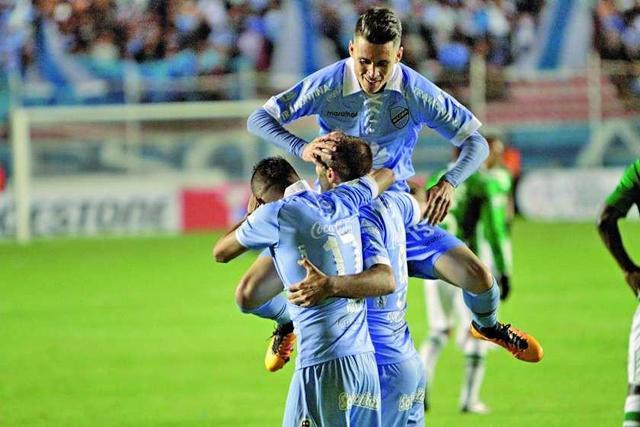 Bolívar golea al Deportivo Cali